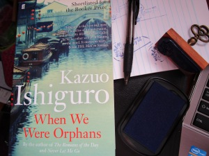 Ishiguro's When We Were Orphans and stamping material