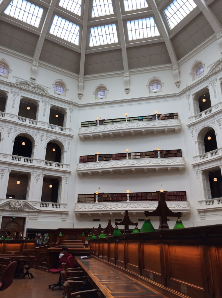La Trobe Reading Room at State Library of Victoria