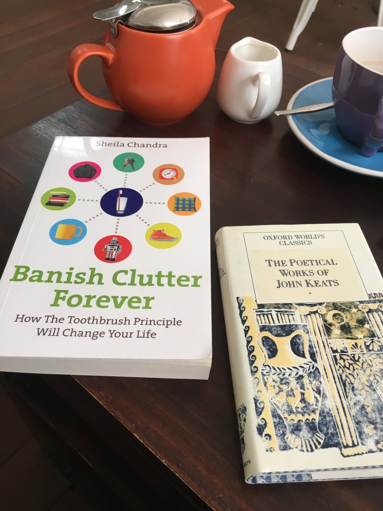 OWC Poetical Works of John Keats and Banish Clutter Forever by Sheila Chandra