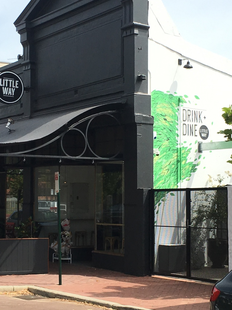 Newly opened eatery Little Way, on Broadway in Nedlands