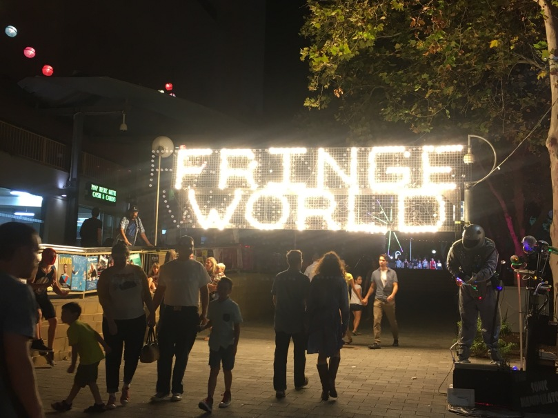 Fringe World gateway in Northbridge
