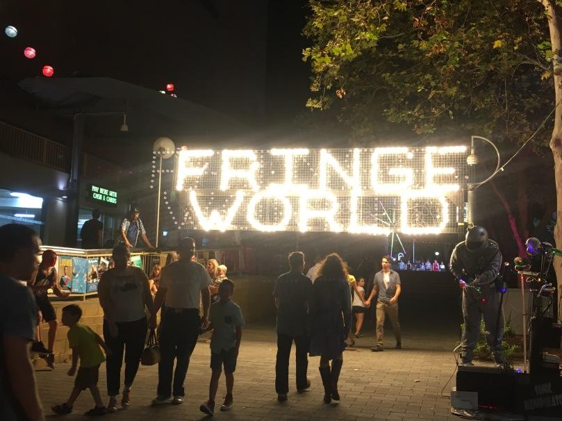 Fringe World gateway in Northbridge