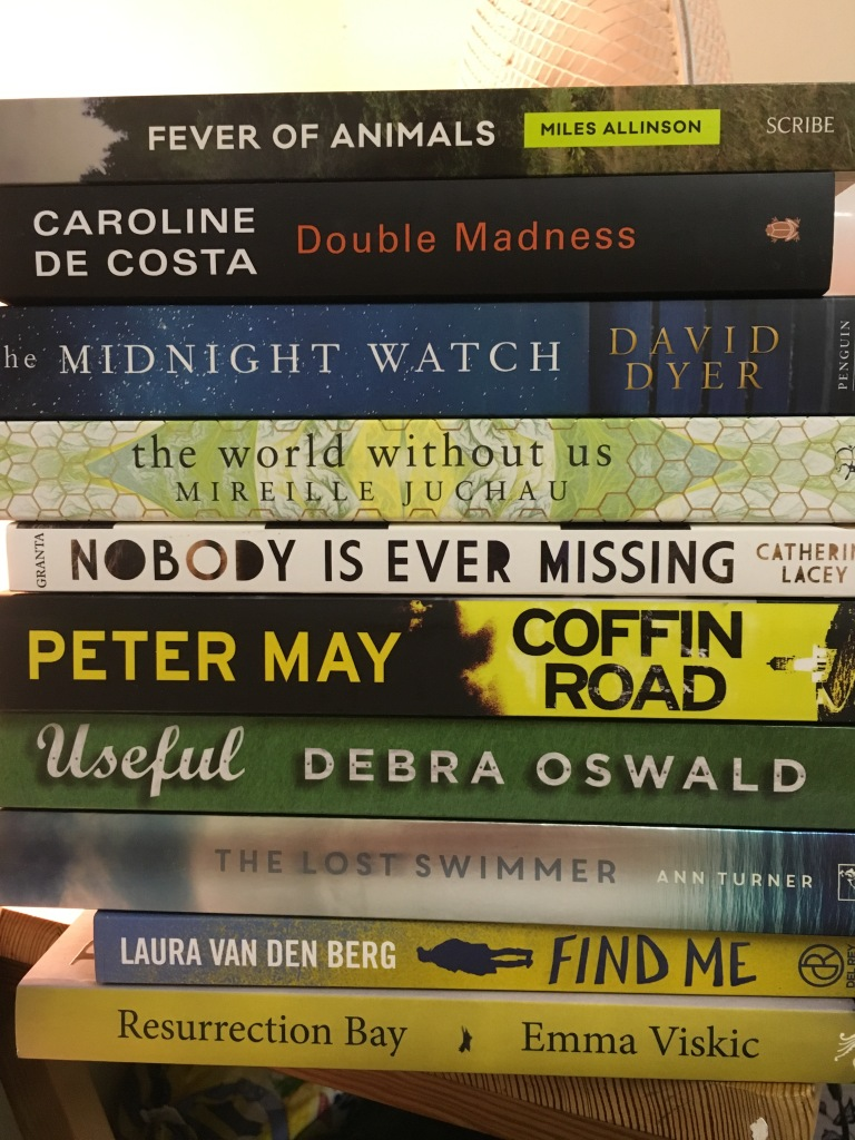 A moderate haul from the bookshop at the Perth Writers Festival 2016